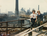 photos from Corby Steel works Central Water Station 1981